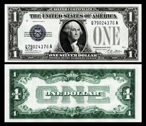 1928-A  $1 SILVER CERTIFICATE NOTE~BRIGHT & CRISP ~  UNCIRCULATED