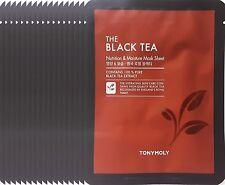 Tonymoly The Black Tea Nutrition & Moisture Mask Sheet   x  17  Sheets