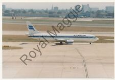 Colour print of Icelandair Boeing 737 40B TF-FIB at Heathrow in 1990