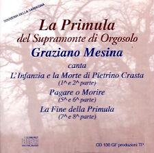 Graziano Mesina, La Primula Del Supramonte Di Orgosolo ( CD - Compilation )