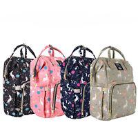 Miger Diaper Bag Backpack Baby Changing Backpack Stroller Hooks (Free)