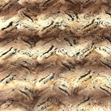 """Faux Fur Fabric Short Pile 60"""" wide Sold By The Yard Shag Fox"""