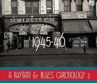 Various Artists - Rhythm & Blues Chronology 1945-46 / Various [New CD] Jewel Cas