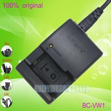 Genuine Original SONY BC-VW1 Charger for NP-FW50 Battery NEX-5C/5 NEX-3C A33/A55