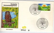 W Germany 1980 Nature Conservation SG 1930 FDC
