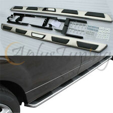 To Fit 2006-2015 Audi Q7 4L Aluminium ABS Side Steps Running Boards Mud Guards