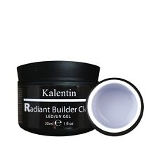 KALENTIN ITALIA RADIANT BUILDER GEL TRASPARENTE BRILLANTE E RESISTENTE 30 ML LED