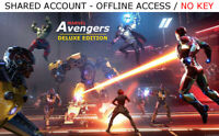 Marvel's Avengers Deluxe Edition Shared Account [OFFLINE ONLY] -READ DESCRIPTION