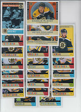 17/18 OPC Boston Bruins Retro Team Set w/RCs + Insert - Bergeron McAvoy RC +