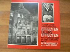 LP RECORD VINYL EFFECTEN BEURS EFFECTEN FLITSEN UIT DE JUBILEUM REVUE 1964 CARRE