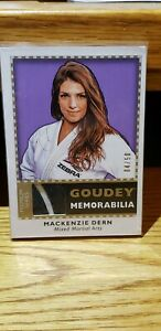 2018 Goodwin Champions Mackenzie Dern 04/50 Goudey Premium Series Patch
