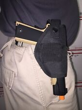 Ambidextrous Nylon Tactical Belt or Clip On Pistol Holster Perfect for 1911