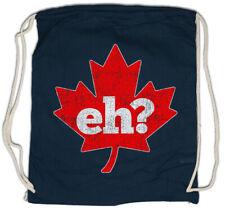 Canada Eh? Drawstring Bag Frank Gallagher Shameless Fun Maple Leaf Flag Wildlife