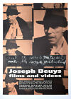 Joseph Beuys, Films and Videos Poster, 1995
