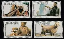 Transkei postfris 1978 MNH 37-40 - Textiel Industrie