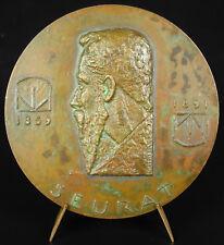 Médaille pointillisme peintre Georges Seurat Dimanche d'été à grande Jatte medal