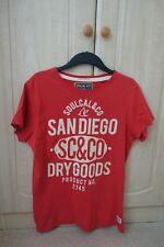 Soulcal & Co dark orange/red t-shirt (L)