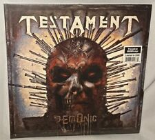 Testament - Demonic LP Brown Vinyl Gatefold Record Limited 1 000