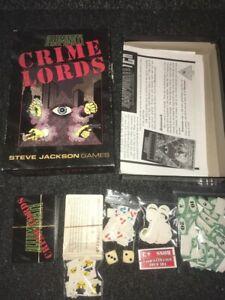 ILLUMINATI CRIME LORDS BOXSET GAME FROM STEVE JACKSON