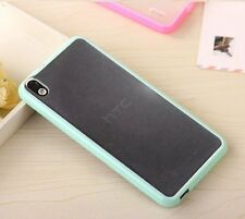 For HTC Desire 816 - HARD GUMMY TPU RUBBER SILICONE FITTED SKIN PHONE CASE COVER