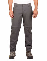 NWOT Marmot Men's Mazot Convertible Pants Shorts 34X30 Dark Steel Gray Hiking