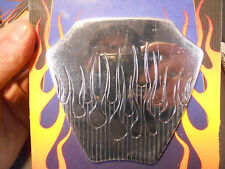 Pro-One  Coil Cover Insert Flamed  Harley Davidson Chopper Bobber Custom 2009