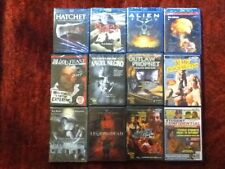 Twelve ( 12 ) Blu-ray ,Troma and Horror Movie / Dvd Lot