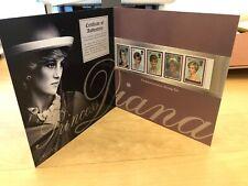 Royal Mail 1961-1997 - Princess Diana Commemorative stamps. Set of 5 - MNH