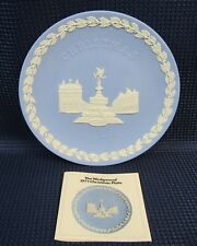 Wedgwood Christmas 1971 Piccadilly Circus Collectors Plate  (1E21)
