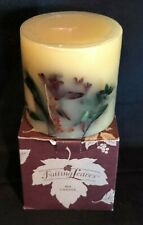 Longaberger Falling Leaves Candle ~ Orchard Park Fragrance ~ New! ~ 4X4 ~ 75001
