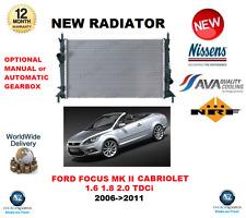 für Ford Focus MK II Cabriolet 2.0 TDCi 2006- > 2011 NEUER HEIZKÖRPER