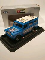 "Burago 1/24 Scale Diecast Model "" Land Rover"", Boxed"