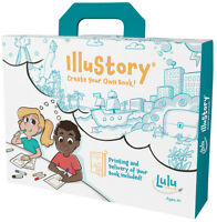 Lulu Jr IlluStory Make Your Own Hardbound Book Kit w/ Professional Printing T549