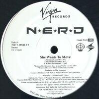 "N.E.R.D. ""SHE WANTS TO MOVE"" 2004 VINYL 12"" PROMO 5 TRACKS ~RARE~ HTF *SEALED*"