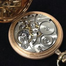 Rare Vintage Collectors E Howard Railroad Pocket Watch Working 17Jewels 1223570