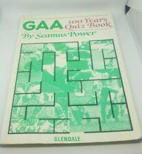 GAA 100 Years Quiz Book. By Seamus Power. 1984