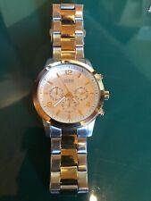 Guess men's large chronograph watch - EUC