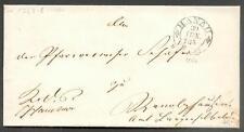 HANAU 1854 DIENSTBRIEF TuTAXIS(L8223a