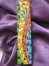 Mosaic Style Mezuzah Case Home Room Family Door  Protection Judaica Prayer New