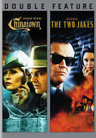 CHINATOWN + THE TWO JAKES New DVD Double Feature Jack Nicholson - Region 1 NEW