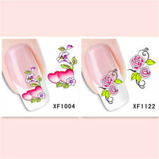 2Sheet/Exquisite Fashionable Hot DIY Nail Stickers  XF1004+1122