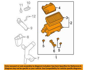 Saturn GM OEM 01-03 L200 Air Cleaner Intake-Filter Box Housing 22661021