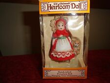 LIL CHIMERS HEIRLOOM DOLL - PORCELAIN BELL HANGING TREE ORNAMENT