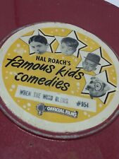 Vintage 16mm movie FAMOUSE KIDS COMEDIES in WHEN THE WIND BLOWS(little rascles)