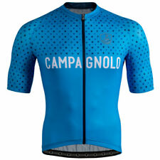 NEW Campagnolo Quarzo Shield Light Blue Cycling Jersey RRP £96.99 Made in Italy