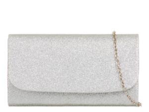 Women's Clutch Bag Glitter Wedding Evening Handbag H731