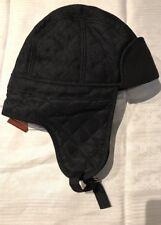 Original Penguin Black Noah Trapper Hat Size Small-Medium