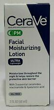 CeraVe PM Facial Moisturizing Lotion - 2 fl oz NEW SALE
