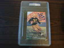Bill Dudley Autograph / Signed Goal Line Art Card GLAC Steelers PSA/DNA