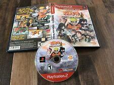 Naruto: Ultimate Ninja (Sony PlayStation 2, 2006) Used Free US Shipping